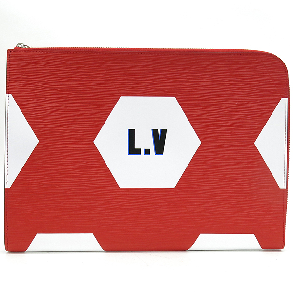 Louis Vuitton(루이비통) M63623 2018 WORLD CUP 컬렉션 포쉐트 주르 GM 클러치백 [강남본점]