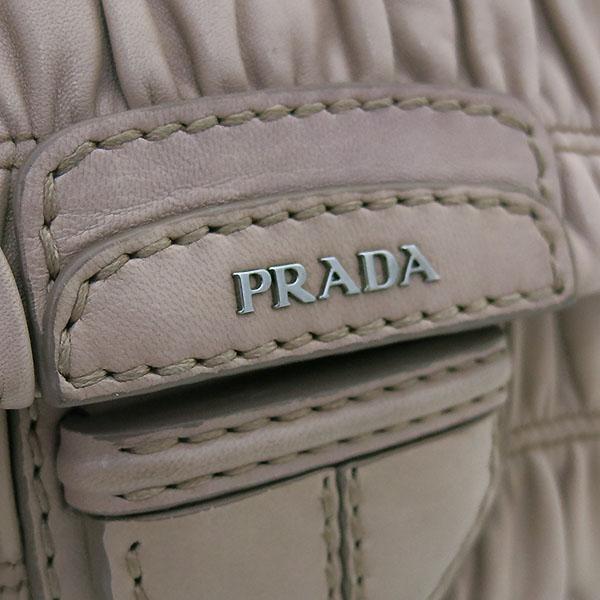 Prada(프라다) B4553C CAMMEO 나파 고프레 핑크 레더 은장 체인 숄더백 [부산센텀본점] 이미지4 - 고이비토 중고명품