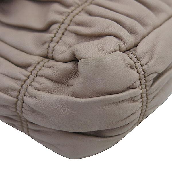 Prada(프라다) B4553C CAMMEO 나파 고프레 핑크 레더 은장 체인 숄더백 [부산센텀본점]