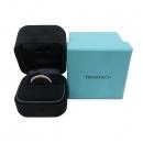 Tiffany(티파니) PT950(플래티늄) + 18K 옐로우골드 콤비 밀그레인 3MM 반지 - 13호 [부산센텀본점]