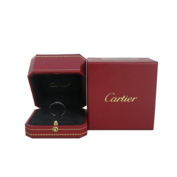 Cartier(까르띠에) B4054058 PT950(플래티늄) 인그레이빙 3MM 웨딩 반지-18호 [동대문점]