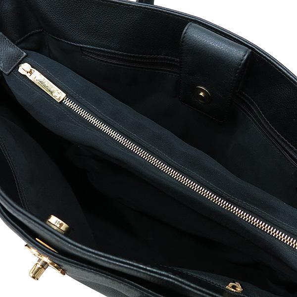 Chanel(샤넬) A15206Y01570 카프스킨 캐비어 블랙 금장 COCO로고 서프 토트백 + 숄더스트랩 2WAY [인천점] 이미지7 - 고이비토 중고명품