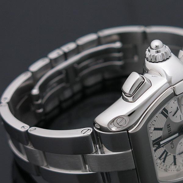 Cartier(까르띠에) W62020X6 ROADSTER (로드스터) 크로노그래프 스틸 남성용 오토매틱 시계 [인천점] 이미지3 - 고이비토 중고명품