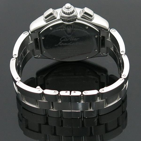 Cartier(까르띠에) W62020X6 ROADSTER (로드스터) 크로노그래프 스틸 남성용 오토매틱 시계 [인천점] 이미지4 - 고이비토 중고명품