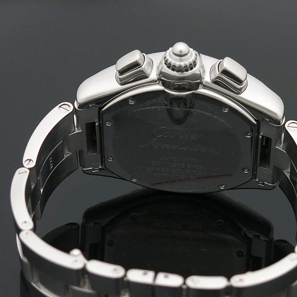 Cartier(까르띠에) W62020X6 ROADSTER (로드스터) 크로노그래프 스틸 남성용 오토매틱 시계 [인천점] 이미지5 - 고이비토 중고명품