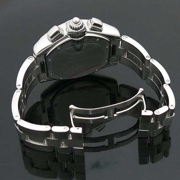 Cartier(까르띠에) W62020X6 ROADSTER (로드스터) 크로노그래프 스틸 남성용 오토매틱 시계 [인천점] 이미지6 - 고이비토 중고명품