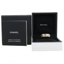 Chanel(샤넬) J1081751 Coco Crush 컬렉션 18K 베이지골드 퀼팅 반지  - 51호 [강남본점]