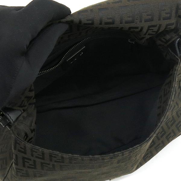 Fendi(펜디) 8BR001 FF로고 쥬카 패브릭 레더 혼방 숄더백 [강남본점] 이미지5 - 고이비토 중고명품
