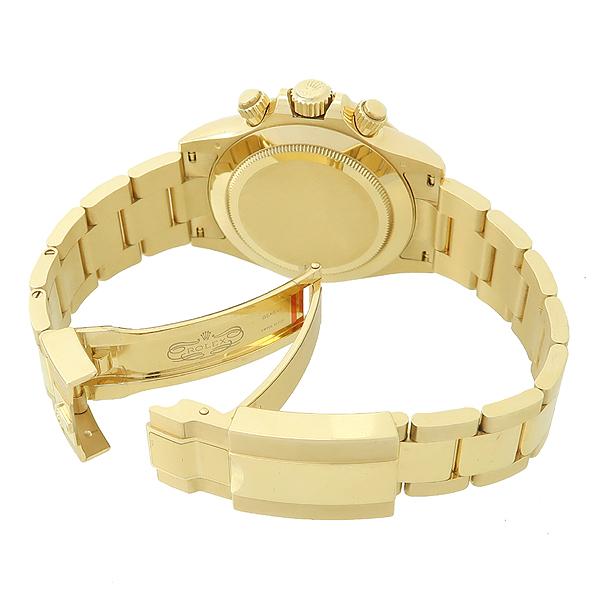 Rolex(로렉스) 116508 18K 옐로우 골드  COSMOGRAPH(코스모 그래프) DAYTONA(데이토나) 그린 다이얼 남성용 금통 시계 [강남본점] 이미지3 - 고이비토 중고명품