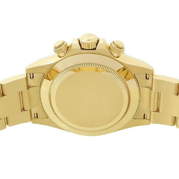 Rolex(로렉스) 116508 18K 옐로우 골드  COSMOGRAPH(코스모 그래프) DAYTONA(데이토나) 그린 다이얼 남성용 금통 시계 [강남본점] 이미지4 - 고이비토 중고명품