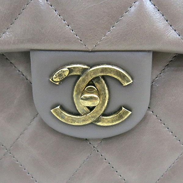 Chanel(샤넬) 금장 COCO로고 파우더핑크 레더 퀼팅 탑핸들 토트백 + 체인 숄더백 2WAY [대전본점] 이미지4 - 고이비토 중고명품
