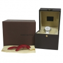 Louis Vuitton(루이비통) Q121P1 땅부르 포에버 다이아 세팅 자개판 화이트 러버밴드 여성용 시계 [대구동성로점]