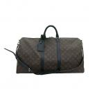 Louis Vuitton(루이비통) M56714 모노그램 마카사르 키폴 반둘리에 55 여행용 가방 + 숄더 스트랩 [부산센텀본점]