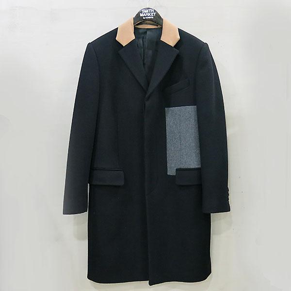 GIVENCHY(지방시) 100% 울 블랙 컬러 남성용 코트 [부산센텀본점]
