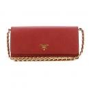 Prada(프라다) 1M1290 사피아노 금장 지갑 겸 크로스백 (W)