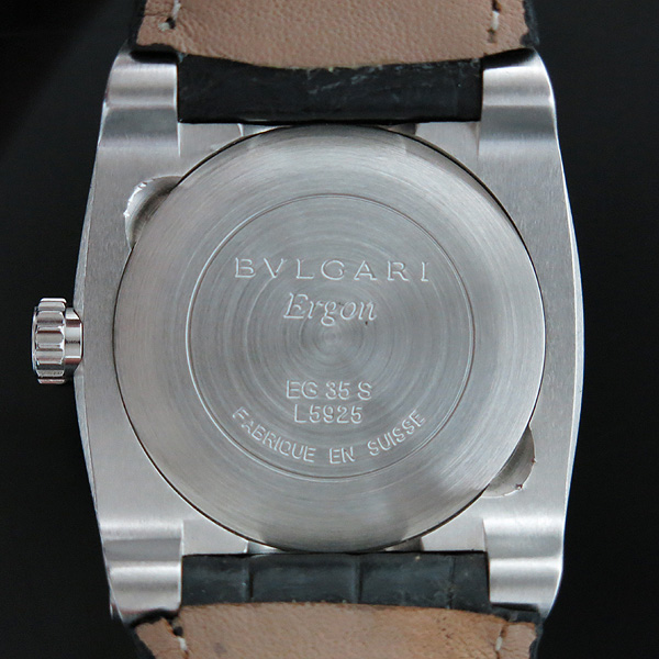 Bvlgari(불가리) ERGON(에르곤) EG35S 레더 밴드 남여공용 오토메틱 시계  [인천점] 이미지5 - 고이비토 중고명품
