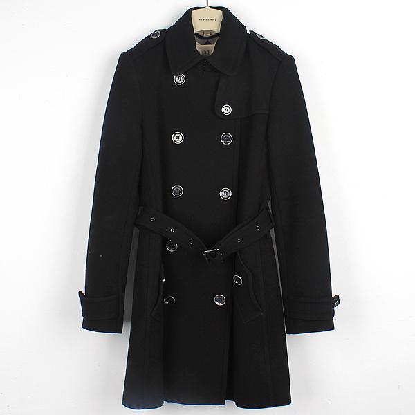 Burberry(버버리) 3759519 런던 울 캐시미어 혼방 견장 장식 여성용 트렌치 코트 + 벨트(SET) [대구반월당본점]