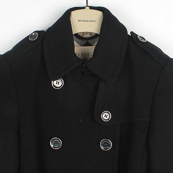 Burberry(버버리) 3759519 런던 울 캐시미어 혼방 견장 장식 여성용 트렌치 코트 + 벨트(SET) [대구반월당본점] 이미지2 - 고이비토 중고명품