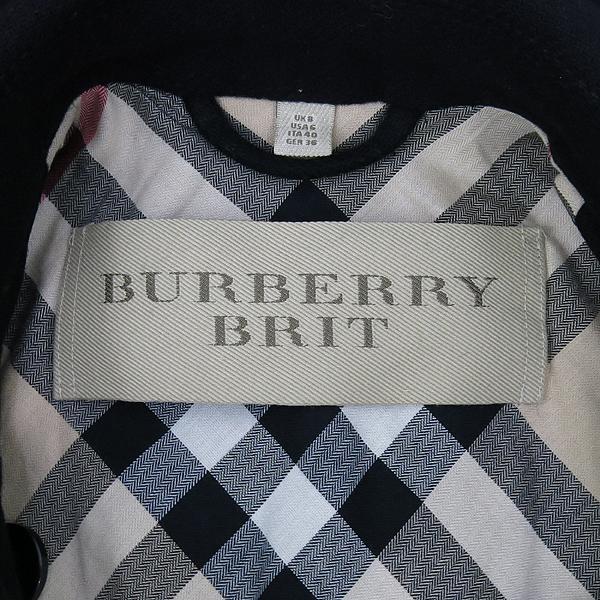 Burberry(버버리) 3759519 런던 울 캐시미어 혼방 견장 장식 여성용 트렌치 코트 + 벨트(SET) [대구반월당본점] 이미지4 - 고이비토 중고명품