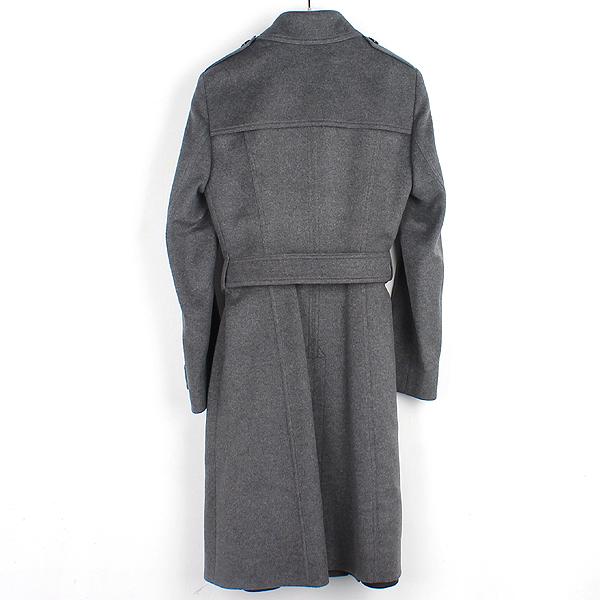 Burberry(버버리) 3993441 런던 그레이 컬러 캐시미어 혼방 견장 장식 여성용 코트 [강남본점] 이미지3 - 고이비토 중고명품