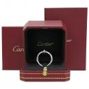 Cartier(까르띠에) B4092400 18K 화이트골드 저스트 앵 끌루 링 반지 - 24호 [강남본점]