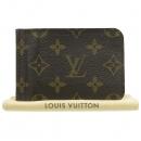 Louis Vuitton(루이비통) M66543 모노그램 캔버스 머니클립 반지갑 [강남본점]