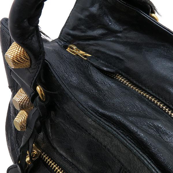 Balenciaga(발렌시아가) 173085 금장 스터드 블랙 컬러 자이언트 BRIEF (브리프) 토트백 + 보조 거울 [인천점] 이미지4 - 고이비토 중고명품