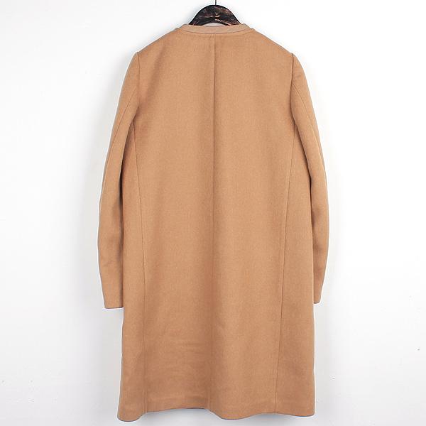 Ferragamo(페라가모) 울 카멜 컬러 여성용 롱 코트 [대전본점] 이미지3 - 고이비토 중고명품