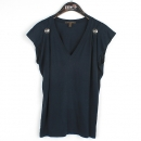 Louis Vuitton(루이비통) 네이비 컬러 V넥 여성용 슬리브리스 [강남본점]