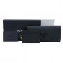 Prada(프라다) 1MH132 블랙 사피아노 샤인 장지갑 + 보조 네임텍 [부산센텀본점]