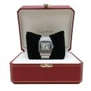Cartier(까르띠에) W20060D6 산토스 드 까르띠에 갈베 LM사이즈 데이트 쿼츠 스틸 남성용시계 [인천점]