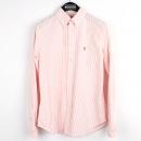 Polo Ralphlauren(폴로) 핑크 스트라이프 cotton 100% 남방 [강남본점]
