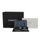 Chanel(샤넬) A65050 네이비 캐이버 클래식 미니 은장로고 체인 크로스백 [동대문점]
