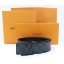 Louis Vuitton(루이비통)[신형] M9808T LV 이니셜 다미에 그라피트 벨트(W)