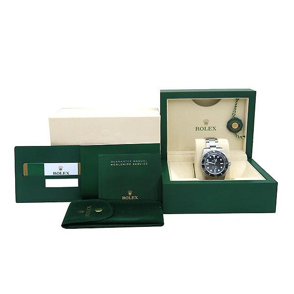 Rolex(로렉스) 114060 서브마리너 NON-DATE 블랙 세라믹 베젤 스틸 남성용 시계 [부산센텀본점]