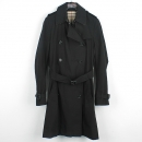 Burberry(버버리) 블랙 여성용 트렌치 코트 (벨트 SET) [강남본점]