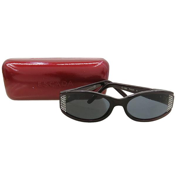 Escada(에스까다) E1069 P433S 와인 컬러 큐빅 장식 선글라스 [강남본점]