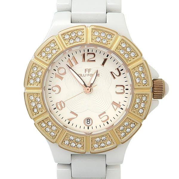 FOLLI FOLLI(폴리폴리) 크리스탈 베젤 세라믹 여성용 시계 [강남본점]