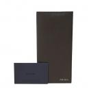 Prada(프라다) 2MV836 브라운컬러 사피아노 은장로고 남성용 장지갑 [대구동성로점]