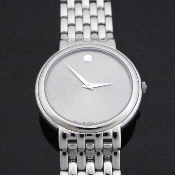 MOVADO(모바도) 라운드 37MM 쿼츠 남녀공용 스틸 시계 [대구반월당본점]