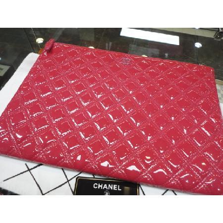 Chanel(샤넬) 신상 코랄핑크 페이던트 한정 퀼팅 COCO로고 클러치 라지 [청주금천광장점]