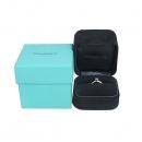 Tiffany(티파니) PT950(플래티늄) + YG750(18K 골드) 0.19캐럿 다이아 웨딩 반지-12호 [동대문점]