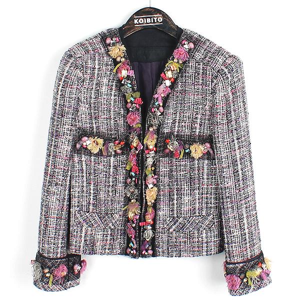 Mine(마인) 크리스탈 자켓 여성용 트위드 자켓 [강남본점]
