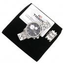 TISSOT(티쏘) T014.427.11.051.01 PRC200 크로노그래프 오토매틱 스틸밴드 남성용 시계 [강남본점]