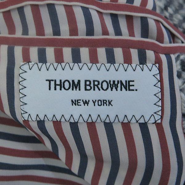 THOM BROWNE(톰브라운) 모 혼방 패치 여성용 코트 [부산센텀본점] 이미지4 - 고이비토 중고명품