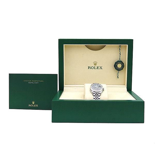 Rolex(로렉스) 279174 DATE JUST(데이저스트) 28mm 그레이 실버 다이얼판 스틸 여성용 시계 [부산센텀본점]