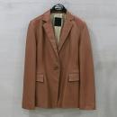 MICHAA(미샤) 100% 양가죽 브라운 컬러 여성용 자켓 [부산센텀본점]