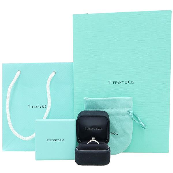 Tiffany(티파니) PT950(플레티늄) 0.28CT(캐럿) 다이아 웨딩 반지 - 12호 [강남본점]