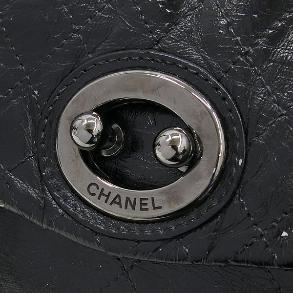 Chanel(샤넬) 크루즈컬렉션 퀼팅 스티치 램스킨 라운드버클 빅체인 숄더백 [강남본점] 이미지3 - 고이비토 중고명품