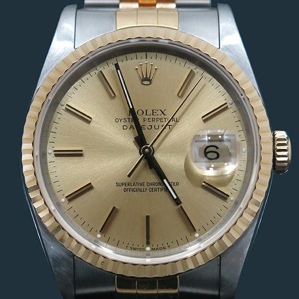 Rolex(로렉스) 16233 DATEJUST 데이트저스트 18K 콤비 스틸 쥬빌레 브레이슬릿 남성용 시계 [인천점]